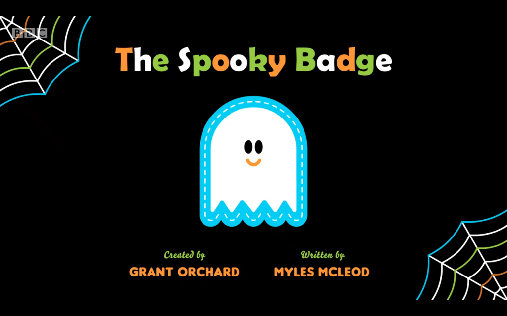 The Spooky Badge by Myles McLeod for Hey Duggee