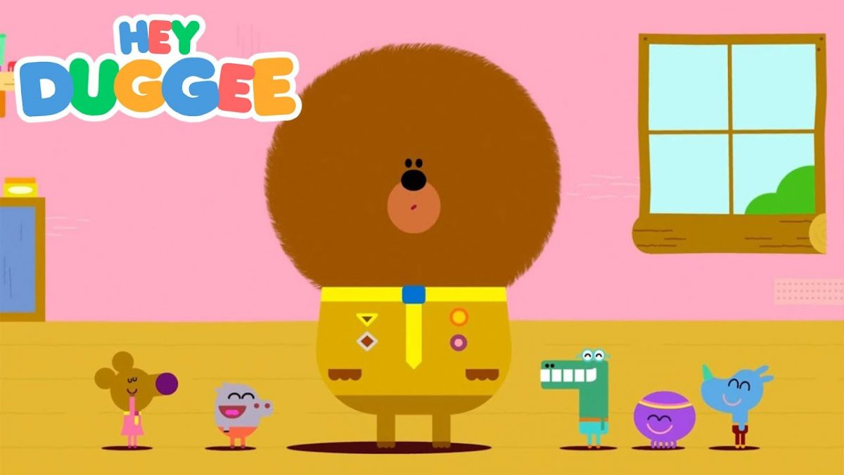 Hey Duggee - The Hair Badge