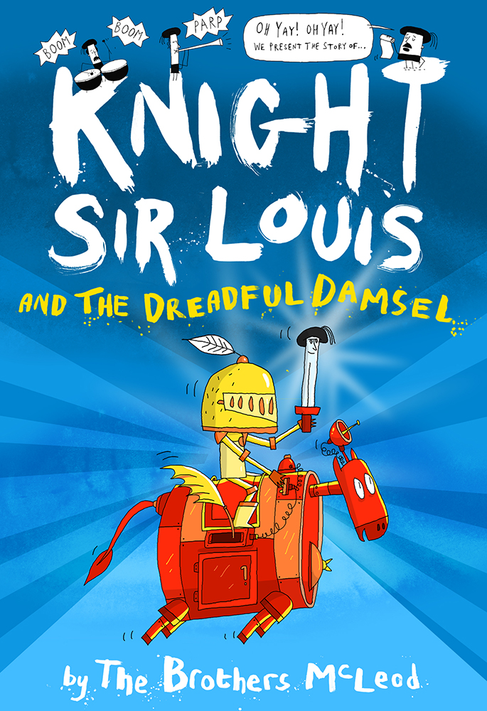 Knight Sir Louis and the Dreadful Damsel